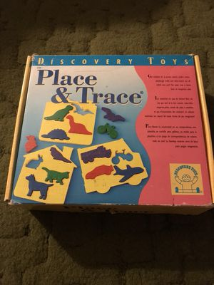 Puzzle, stencil, play dough/cookie cutter, match game for Sale in Natrona Heights, PA
