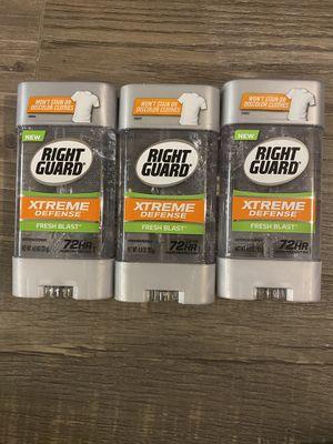 Right guard fresh blast deodorant $2.50 each for Sale in San Bernardino, CA