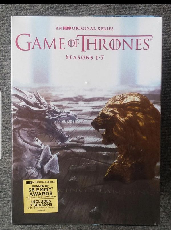 Game of thrones 1-7 brand new