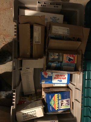 Baseball Cards full box for Sale in Parma, OH