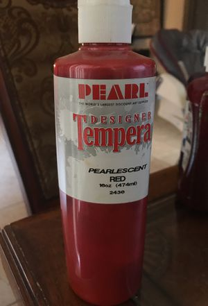 Pearl Tempera pearlescent red 16oz bottle for Sale in Pembroke Pines, FL