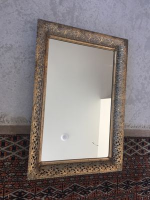 Vintage Gold Table Mirror for Sale in San Diego, CA