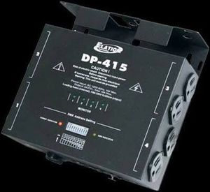 Elation DP-415 DMX 4 Channel 15A Dimmer / Power Switch Pack for Sale in Commerce, CA