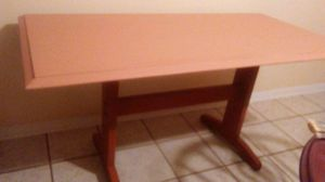 Old refinished table. 29x58 for Sale in Alamo, GA