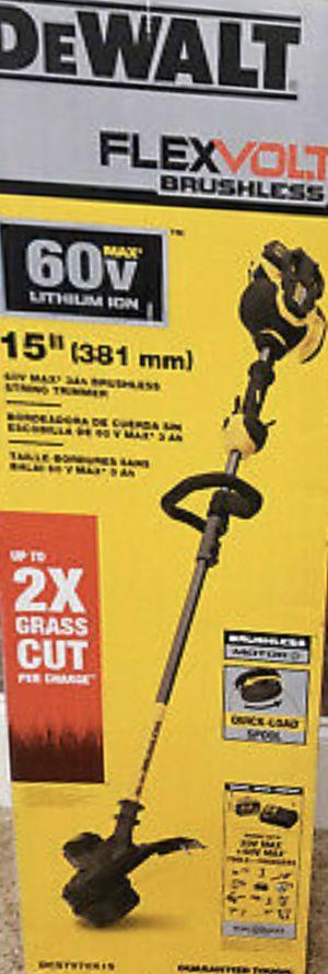 DEWALT FlexVolt 60V MAX String Trimmer (Tool Only) DCST970B New for Sale in Fremont, CA