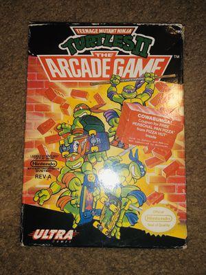 Nintendo NES Ninja Turtles Arcade Game Cib for Sale in Columbus, OH