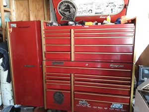 SNAP ON 100TH ANNIVERSARY TOOL BOX WITH SIDE CART for Sale in Herculaneum, MO