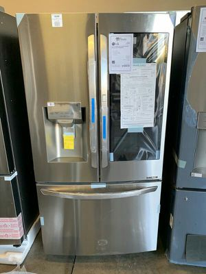 LG Stainless Smart Enabled InstaView Knock Feature Refrigerator NEW !!💥💥1yr Manufacturers Warranty for Sale in Gilbert, AZ
