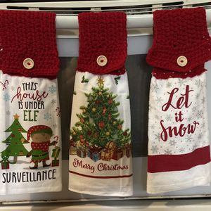 Handmade Hanging Kitchen Towels for Sale in New Haven, CT