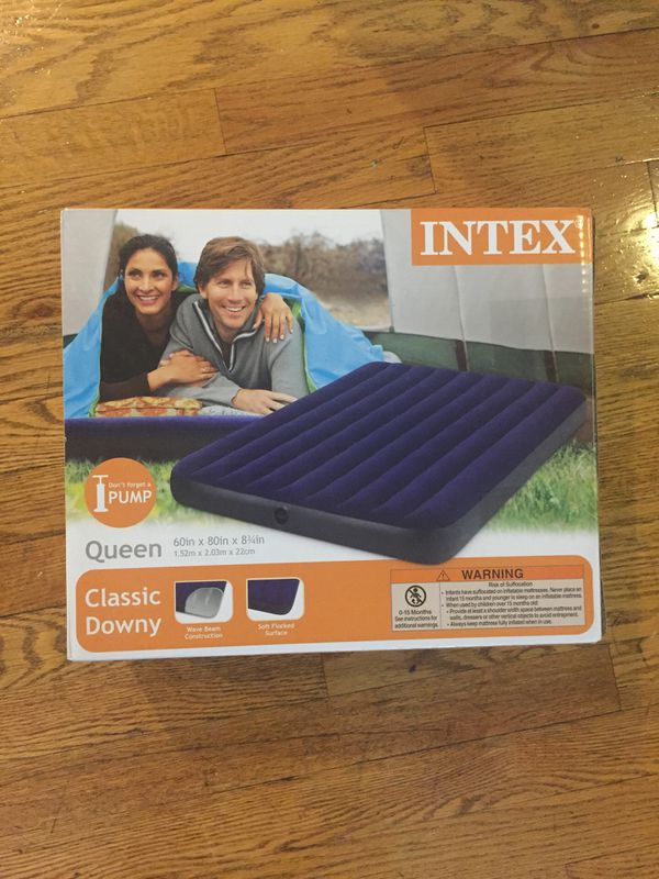 Queen 8.75 Inflatable Mattress