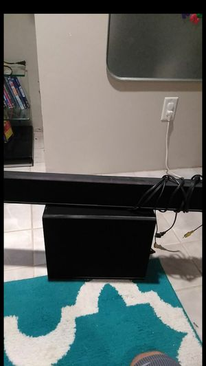 Vizio sound bar and subwoofer for Sale in West Haven, CT