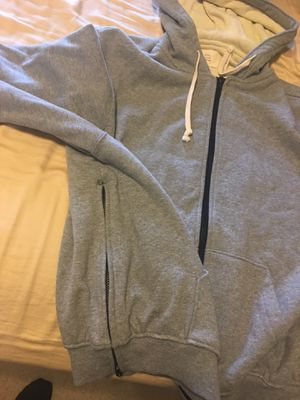 Fear of God FOG Grey Zip Up Hoodie Jacket for Sale in Irving, TX