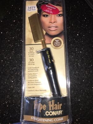 New Hype Hair by Conair Straightening Comb for Sale in Stockton, CA