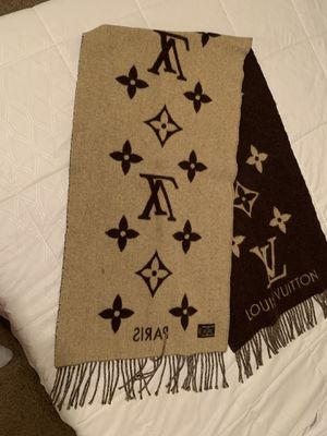 Louis Vuitton -cashmere-monogram-reykjavik-scarf-brown-beige. for Sale in El Cajon, CA