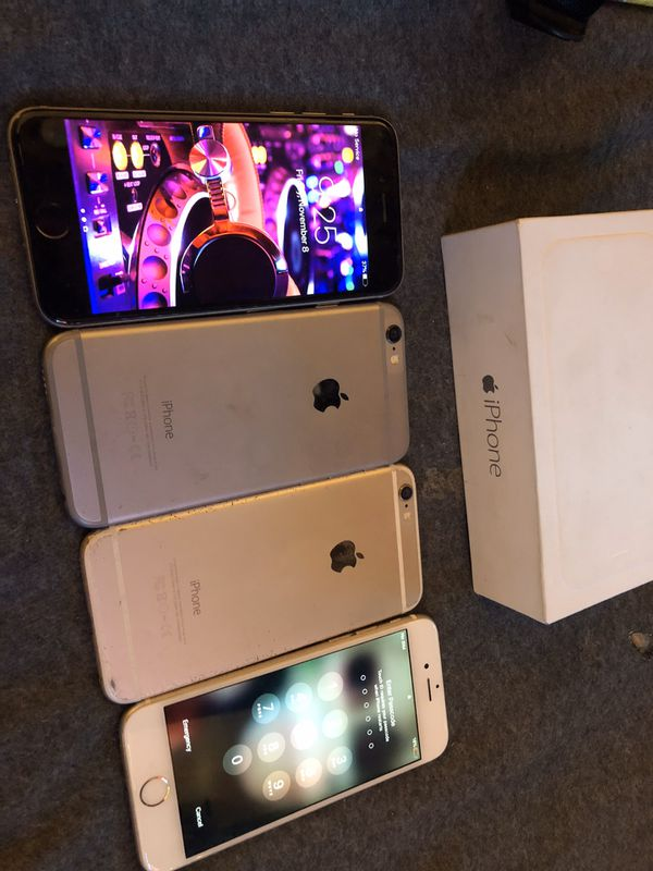 iPhone 6 & 6S's Available!!