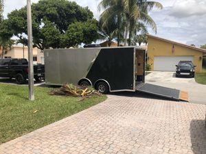 20 x 8.5 Covered Wagon Trailer for Sale in Boca Raton, FL