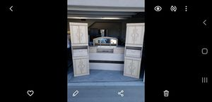 Bedroom set with mirror and dresser for Sale in Corona, CA