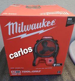 Milwaukee jobsite fan m18 for Sale in Norwalk,  CA