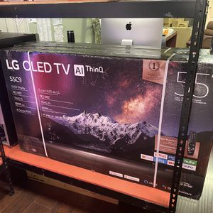 55 INCH LG OLED C9 AI THIN Q SMART 4K tv SALE HDMI 2.1 TVS for Sale in Glendale, CA