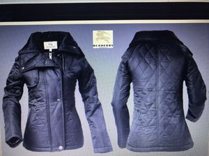Brand New Burberry Women's Spring Jacket. Never Worn. Looks very nice. Size XL. Will last forever. Very well made and Classy too. New without tags! for Sale in Bethesda, MD