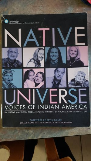 College textbook Native Universe Voices of Indian America for Sale in Staples, MN