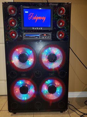 Karaoke Multi Media Sound System for Sale in Brownsville, TX
