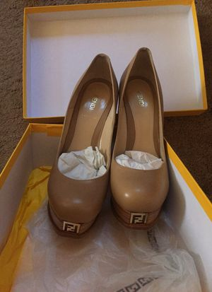 Fendi Nude Platform Pumps for Sale in Washington, DC
