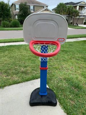 Little Tikes Basketball hoop set / Little tikes swing for Sale in Sarasota, FL
