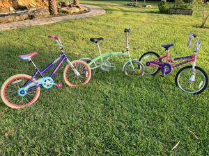 Three bicycles ... 100 for all three or best offer !!! for Sale in Fort Lauderdale, FL