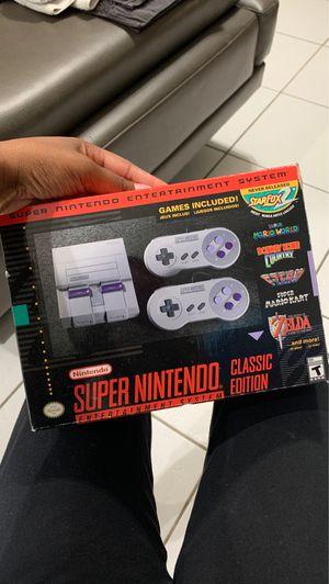 Super Nintendo Classic Edition for Sale in Boca Raton, FL