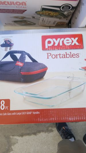 Pyrex glass portables for Sale in San Diego, CA