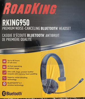 Road King RKING950 premium noise-canceling bluetooth headset for Sale in La Vergne, TN