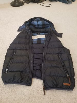 Navy Blue Vest by Burberry in Large for Sale in Hanover, MD