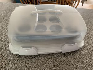 Cupcake/Muffin trays + travel container for Sale in Pittsburgh, PA