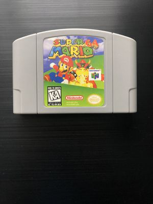 Super Mario 64 (Nintendo 64, 1996) N64 - Tested, Working, Great Gift! (Read) for Sale in Pembroke Pines, FL
