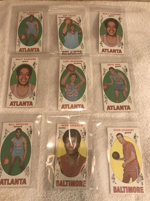 1969 Topps Basketball Cards. 64 Total for Sale for sale  Minneapolis, MN