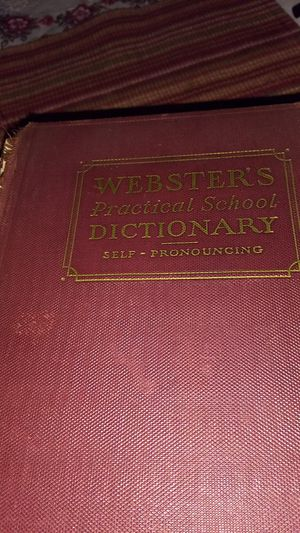 Old dictionary for Sale in Hyattsville, MD