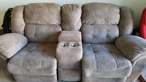 Recliner with cupholder and available for immediate pick up for Sale in Falls Church, VA