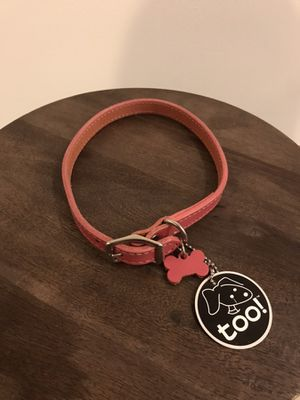 """Dog collar 18""""- pink New for Sale in Boston, MA"""