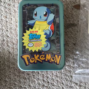 Pokemon Card Set-Squirtle Unopened for Sale in League City, TX