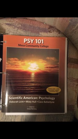 Psychology 101 book for Sale in Tempe, AZ