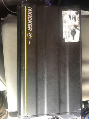 Kicker AMP 1200.1 for Sale in Tampa, FL