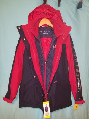 TOMMY HILFIGER 3 IN 1 JACKETS FOR WOMEN SIZE,S,M,XL,XXL. for Sale in Tustin, CA