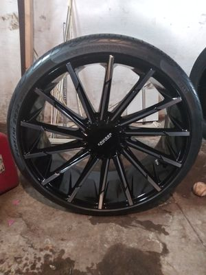 """24"""" Rims An Tires for Sale in Decatur, IL"""