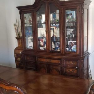 China Cabinet And Family Dinner Table for Sale in Phoenix, AZ