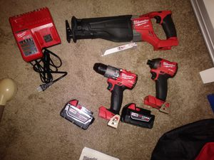 Milwaukee 3 peice power tool combo kit 2997-23 for Sale in St. Louis, MO