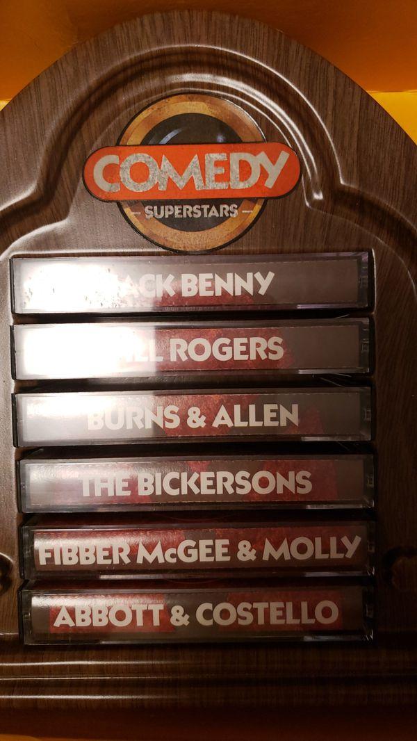 Comedy superstars vol. 1vintage cassette tapes