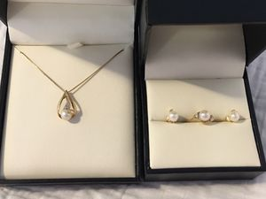 Pearl jewelry set for Sale in Seattle, WA