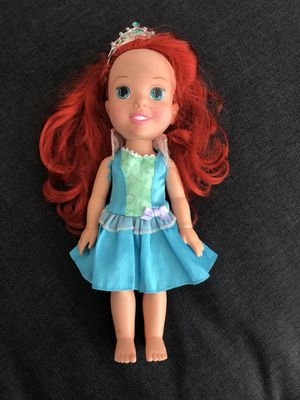Girls The Little Mermaid Toddler Doll for Sale in Anaheim, CA