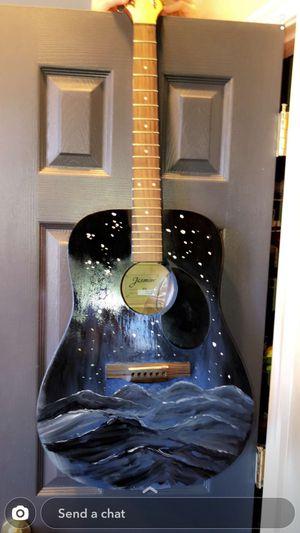 *PROFESSIONAL PAINTED GUITAR* for Sale in Lorton, VA